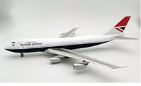 British Airways Boeing 747-200 G-BDXH  plus stand & coin (1:200)