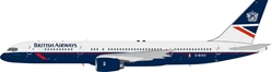 British Airways Boeing 757-236 G-BIKD  With Stand (1:200)