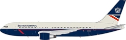 British Airways  Boeing 767-200 N655US With Stand (1:200)