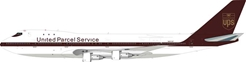 UPS Boeing 747-100 N681UP (1:200), InFlight 200 Scale Diecast Airliners Item Number ARDLE002