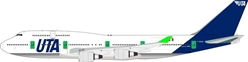 UTA Boeing 747-400 F-GEXA (1:200) - Preorder item, Order now for future delivery, InFlight 200 Scale Diecast Airliners Item Number ARDLE008