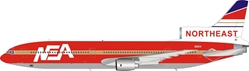 "Northeast L1011 N765BE ""Fantasy Model - Die Hard 2 Movie"" (1:200) - Preorder item, Order now for future delivery, InFlight 200 Scale Diecast Airliners Item Number B-1011-DH01"