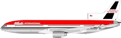 "Atlantic International Lockheed L-1011 N330EA Movie Model ""Passenger 57"" (1:200) - Preorder item, Order now for future delivery, InFlight 200 Scale Diecast Airliners Item Number B-1011-P57001"