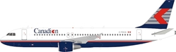 Canadian Airlines Airbus A320-200 C-FDCA (1:200) by InFlight 200 Scale Diecast Airliners Item Number B-320-CP-001