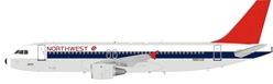 Northwest Airlines Airbus A320-211 N301US (1:200) - Preorder item, order now for future delivery, InFlight 200 Scale Diecast Airliners, Item Number B-320-NW-1218