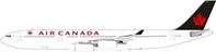 Air Canada Airbus A340-300 C-FYLG with stand (1:200)