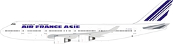 Air France Asie Boeing 747-400 F-GISA With Stand (1:200)