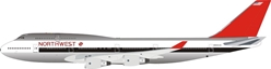 Northwest Airlines Boeing 747-400 N662US Polished (1:200) - , InFlight 200 Scale Diecast Airliners Item Number B-744-NW001P