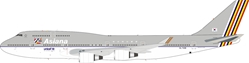 Asiana Airlines Boeing 747-400 HL7418 with stand (1:200)