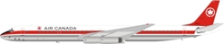 Air Canada McDonnell Douglas DC-8-63 CF-TIS (1:200) by InFlight 200 Scale Diecast Airliners Item Number: B-863-AC-0119P