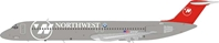 Northwest Airlines DC-9-51 N787NC (1:200) - , InFlight 200 Scale Diecast Airliners Item Number B-DC9-51-NW-01