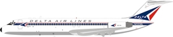 Delta Air Lines Douglas DC-9-32 N3336L With Stand (1:200) by InFlight 200 Scale Diecast Airliners