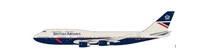 British Airways / Landor Boeing 747-400 G-BNLY 100 year anniversary (1:200) by InFlight 200 Scale Diecast Airliners Item Number: BA100-747-BA-LANDOR