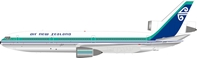 Air New Zealand Dc-10-30 ZK-NZQ Polished (1:200) by InFlight 200 Scale Diecast Airliners Item Number IF10NZ0519P