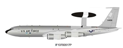 US Air Force Boeing EC-137 Sentry (707-300) 71-1408 Polished (1:200), InFlight 200 Scale Diecast Airliners Item Number IF13700517P