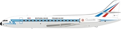 French Air Force Sud SE-210 141 Caravelle III With Stand (1:200) by InFlight 200 Scale Diecast Airliners