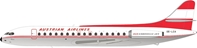 Austrian Airlines Sud SE-210 Caravelle VI-R OE-LCA With Stand (1:200) by InFlight 200 Scale Diecast Airliners item number: IF210OE0719P