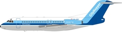 NLM CityHopper Fokker F-28-4000 Fellowship PH-BBV With Stand (1:200) - New Tooling!