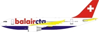 Balair CTA Airbus A310-325 HB-IPN (1:200) - New Mould - Preorder item, order now for future delivery, InFlight 200 Scale Diecast Airliners, Item Number IF310BB1218