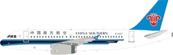 China Southern Airlines Airbus A319-132 B-6207 With Stand (1:200)