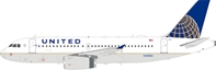 United Airlines Airbus A319-132 N4888U With Stand (1:200) by InFlight 200 Scale Diecast Airliners