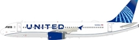 United Airlines Airbus A320-200 N449UA With Stand (1:200) By Inflight Models