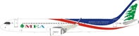 Middle East Airlines MEA T7-ME1 Airbus A321-271NX with stand (1:200)