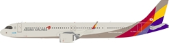 Asiana Airlines Airbus A321-251NX HL8364 with stand (1:200)
