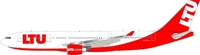 LTU Airbus A330-200 D-ALPA (1:200), InFlight 200 Scale Diecast Airliners Item Number IF3320317
