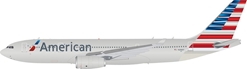 American Airlines Airbus A330-200 N288AY with Stand LTD quantity 50 models (1:200) by InFlight 200 Scale Diecast Airliners SKU IF332AA0519
