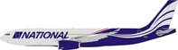 National Airlines Airbus A330-200 N819CA (1:200)