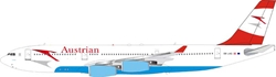Austrian Airlines Airbus A340-211 OE-LAG with stand (1:200)