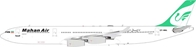 Mahan Air Airbus A340-300 EP-MMA (1:200), InFlight 200 Scale Diecast Airliners Item Number IF3430817