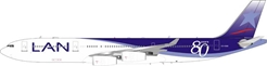 LAN Airlines Airbus A340-313 CC-CQG With Stand (1:200)  Limited 44 models By Inflight Models