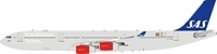 SAS Airbus A340-300 OY-KBA (1:200) - , InFlight 200 Scale Diecast Airliners Item Number IF343SK0618