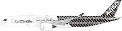 Airbus Airbus A350-900 F-WWCF With Stand (1:200) By Inflight Models