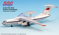 Aeroflot Ilyushin IL-76/976 Mainstay (CCCP) (1:500), InFlight 500 Scale Diecast Airline models Item Number IF5176002