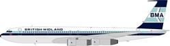 British Midland Airways (BMA) 707-321C G-BMAZ (1:200), InFlight 200 Scale Diecast Airliners Item Number IF7070714