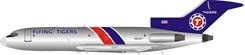 Flying Tigers Boeing 727-100 N935FT Polished (1:200) LIMITED  by InFlight 200 Scale Diecast Airliners