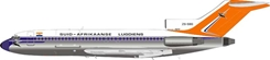 South African Airways Boeing 727-44C ZS-SBG stand included (1:200)
