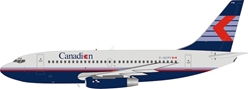 Canadian Airlines Boeing 737-200 C-GCPY With Stand (1:200) by InFlight 200 Scale Diecast Airliners
