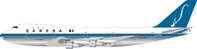 Sabena Boeing 747-100 OO-SGA, Polished (1:200), InFlight 200 Scale Diecast Airliners Item Number IF741SAB001P