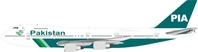 PIA Pakistan International Airlines Boeing 747-200 AP-BAK (1:200) - , InFlight 200 Scale Diecast Airliners Item Number IF742PK0818
