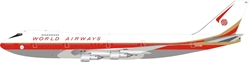 World Airways Boeing 747-200 N747WR (1:200) by InFlight 200 Scale Diecast Airliners