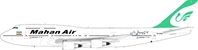 Mahan Air Boeing 747-300 EP-MND (1:200), InFlight 200 Scale Diecast Airliners Item Number IF7430717