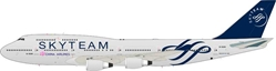 "China Airlines Boeing 747-409 B-18206 ""SkyTeam"" (1:200), InFlight 200 Scale Diecast Airliners Item Number IF7440216"