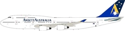 Ansett B747-400 VH-ANB (1:200), InFlight 200 Scale Diecast Airliners Item Number IF744AN003