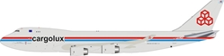 Cargolux Boeing 747-400 LX-PCV (1:200) - Preorder item, order now for future delivery, InFlight 200 Scale Diecast Airliners, Item Number IF744CV1118