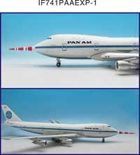 "Pan Am 747-100 ""Clipper Storm King"" N732PA Test bed with 32' Probe (1:200), InFlight 200 Scale Diecast Airliners Item Number IF741PAAEXP-1"