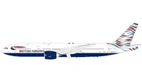 British Airways 777-200 USA Tail (1:200) SECOND, InFlight 200 Scale Diecast Airliners Item Number IF777005-SECOND